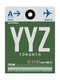 YYZ Toronto Luggage Tag 1