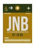 JNB Johannesburg Luggage Tag 1