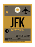JFK New York Luggage Tag 3