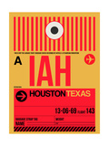 IAH Houston Luggage Tag 1