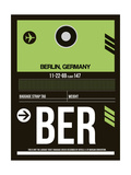 BER Berlin Luggage Tag 2