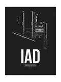 IAD Washington Airport Black