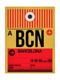 BCN Barcelona Luggage Tag 1