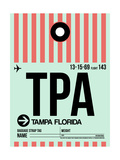 TPA Tampa Luggage Tag 1