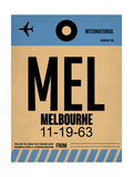 MEL Melbourne Luggage Tag 1