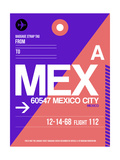 MEX Mexico City Luggage Tag 1