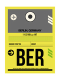 BER Berlin Luggage Tag 1