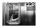 Kissing in a Subway Car