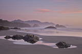 Rocks and Sea Stacks at Sunset  Ecola State Park  Oregon  United States of America  North America