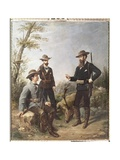 Duke of Montpensier and His Fellow Hunters in the Donana