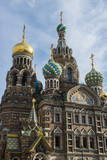 Church of the Saviour on Spilled Blood  UNESCO World Heritage Site  St Petersburg  Russia  Europe