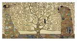 L'arbre de vie Reproduction d'art par Gustav Klimt
