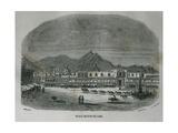 Main Square of Lima Peru in 1850