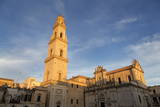 Campanile and Cattedrale Di Santa Maria Assunta in the Baroque City of Lecce  Puglia  Italy  Europe