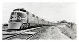 Santa Fe Super Chief Train  1938