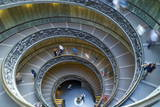 Spiral Staircase  by Giuseppe Momo  Dating from 1932  Vatican Museums  Rome  Lazio  Italy  Europe