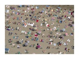 Aerial View of Beach  Spain
