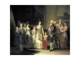 King Charles IV of Spain and His Family