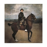 Equestrian Portrait of King Alfonso XIII