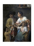 Casta Paintings  Mixed Race Family in Mexico