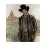 Portrait of Pablo Picasso (Detail)