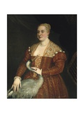 Portrait of a Lady with a Heron