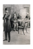 Rechid Pacha and Delagates of the Balkan League Negotiating the Treaty of London  1913