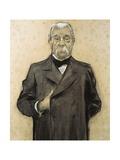 Portrait of Manuel Duran Y Bas (Detail)
