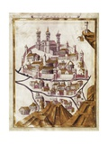 Map of Damascus (1377)