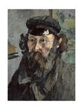Self-Portrait in a Casquette