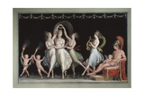 Graces and Venus Dancing in Front of Mars