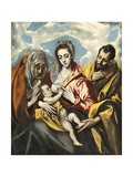 Holy Family with Saint Anne