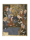 Court of a Safavid Dynasty Prince