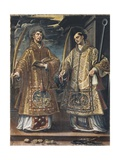 Saint Lawrence and Saint Stephen