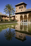 Alhambra  Partal Gardens and Tower of Damas  Hispano-Moresque Art  9-14th Century  Granada  Spain