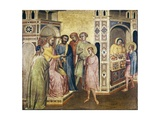 Saint Eligius before the King Chlothar