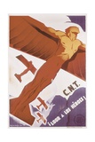 Loor for Heroes  Republican Spanish Civil War Poster