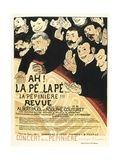 Poster for a Musical Revue by Albert Pajol and Adolphe Couturet