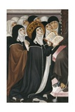 Altarpiece of Franciscan Advocation (Detail with Nuns)