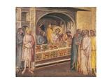 St Eligius before King Clothar  Detail Ca 1365