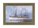 Ship of Norddeutscher Lloyd-Bremen Company