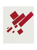 Eight Red Rectangles Reproduction d'art par Kasimir Malevich