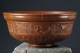 Decorated Vessel Found in the Hispano-Celtic Roman City of Lancia  (1st-4th C