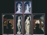 Outside of the Polyptich  Donors and Virgin  Angel and Saints