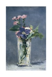 Clematis in a Crystal Vase