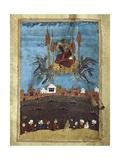 The Magic Carpet'  Illustrating a Poem by Hafiz-E Shirazi  14th C