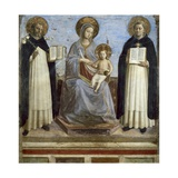 Virgin and Child with Sts Dominic and Thomas Aquinas