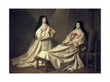 Mother Catherine-Agnes Arnauld and Sister Catherine of St Suzanne
