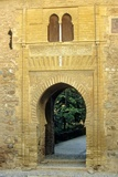 Alhambra  Door of Wine in the Alzacaba and Palace Area  Hispano-Moresque Art  Granada  Spain