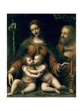 The Holy Family with the Infant St